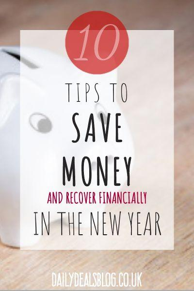 10 tips to save money and recover financially in the new year