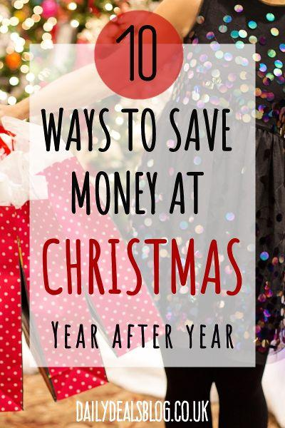 10 ways to save money at christmas year after year