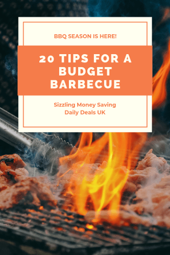 20 tips FOR A BUDGET BaRBECUE