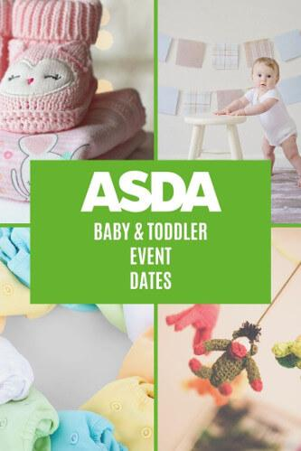 Asda Baby Event Dates