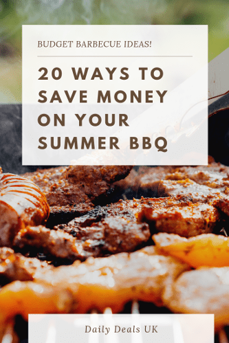 20 Ways to Save Money on Your Summer BBQs