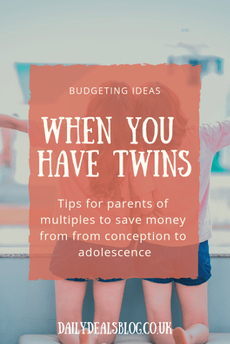 Budgeting Ideas for parents with twins