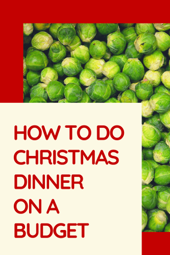 Christmas Dinner Money Saving