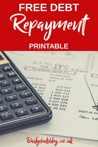 Debt Management Printable