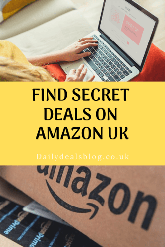 Find The Deals at Amazon UK