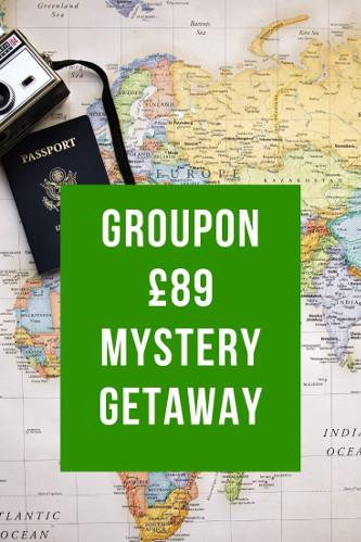 Groupon Mystery Holiday - £89 Getaway Deal Reviews & Info