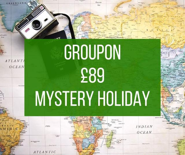 Groupon Mystery Holiday