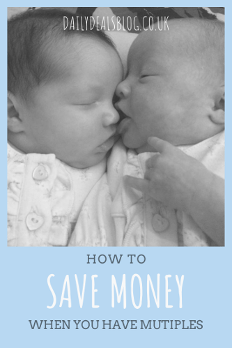 13 Ways to Save Money When You Have Twins