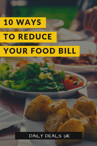 Lower your food bill