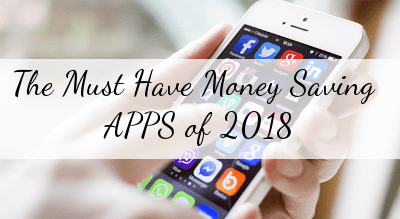 Money Saving Mobile Apps 2018