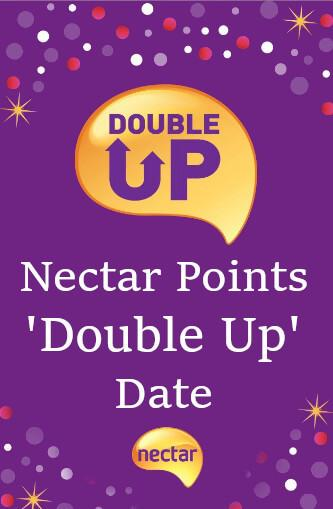 Nectar Double Up Date