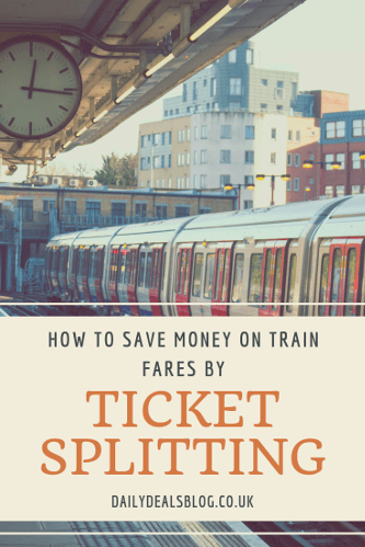Save Money On Train Fares