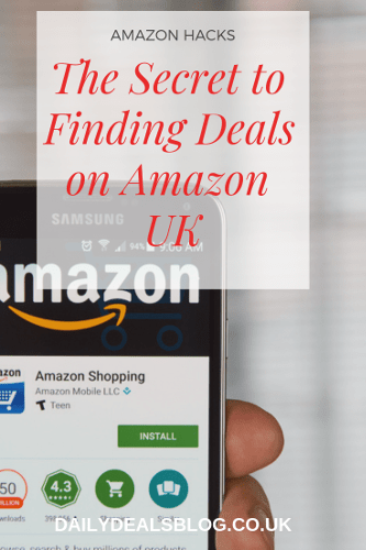 The Secret to Finding Deals on Amazon UK