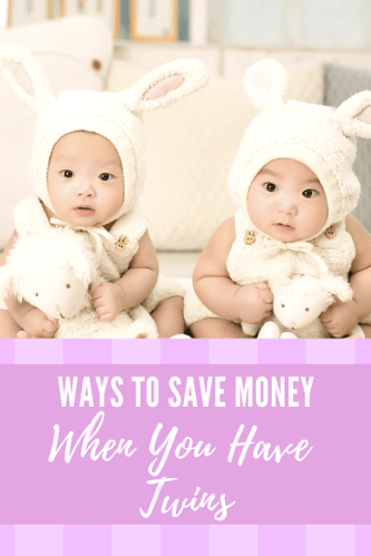 Ways To Save Money When You Have Twins