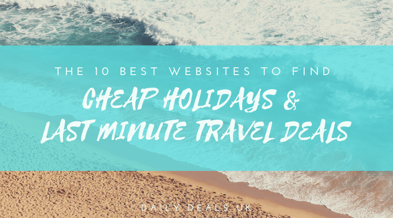 Where to Find Cheap Holidays Online