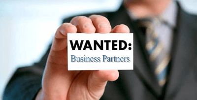 affiliate business partner wanted