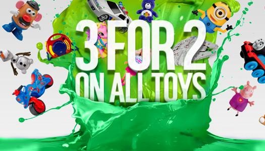 Argos 3 for 2 Toys Event - Sale Dates for 2020