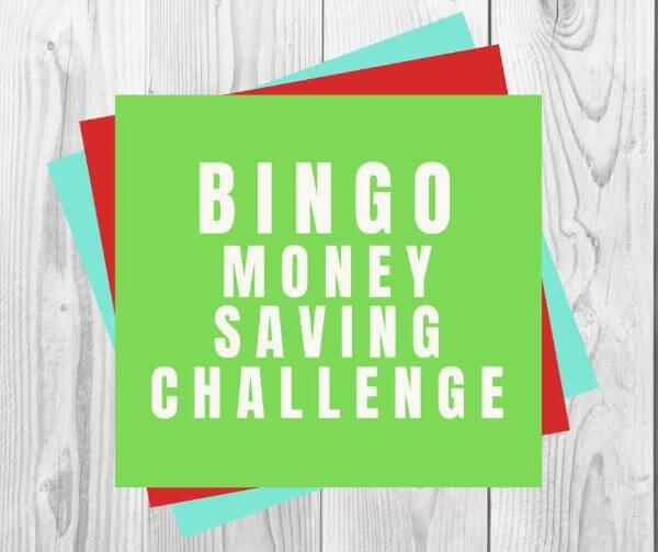 Bingo Money Saving Challeneg