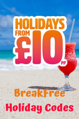 BreakFree Holiday Codes 2021 - Bargain Breaks from £10pp