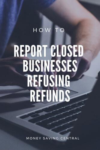 How to Report a Company for Refusing to give Refunds