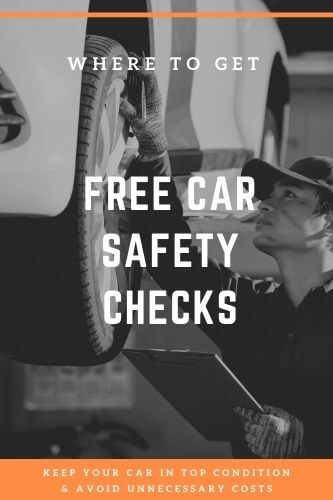 Where to get FREE Car Safety Checks & Repair Checks in 2021