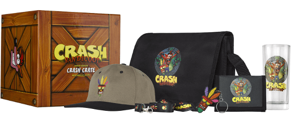 crash bandicoot collectable box deal