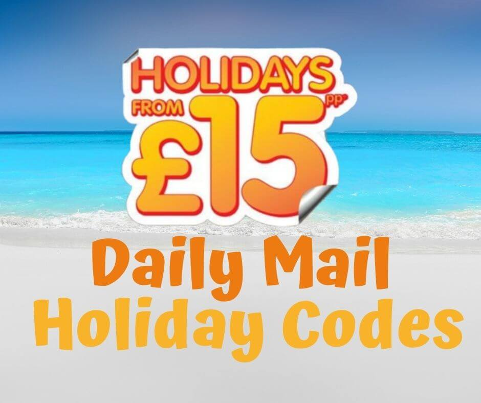 Daily Mail Holiday Codes 2021