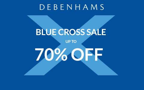 Debenhams Blue Cross Sale Dates