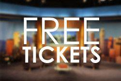 free audience tickets