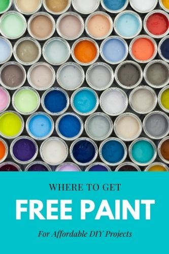 Free Paint - Where to get FREE Paint in the UK in 2021