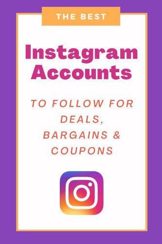Best Instagram Accounts for Bargains, Freebies, Deals & Coupons