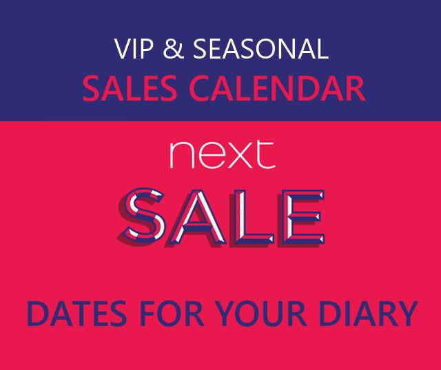Next Sale Dates 2021