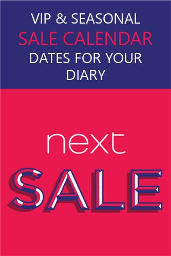 next sale dates