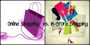 online vs instore shopping