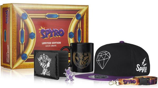 spyro collectable box