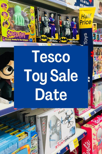 Tesco Toy Sale Date 2021 - Save Half Price on Toys