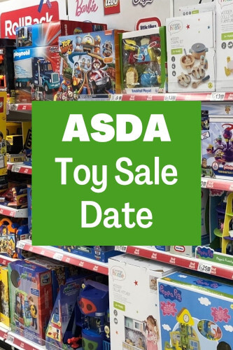 ASDA Toy Sale Date 2021 - Save up to Half Price on Toys