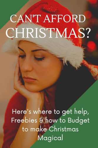 No Money for Christmas? Here's What to do & Who will Help