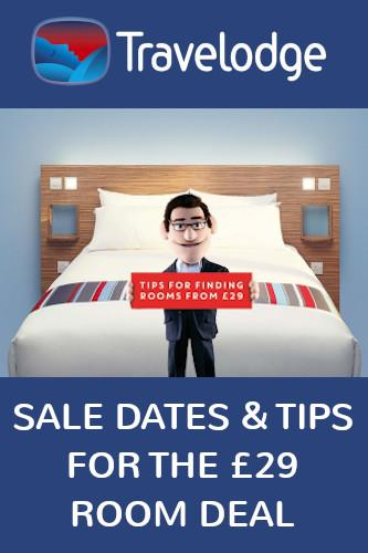 Travelodge Sale 2021 Dates for the next £29 Room Deal