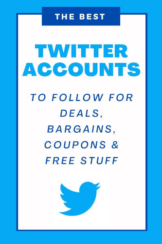Best Twitter Accounts for Bargains, Freebies, Deals & Coupons
