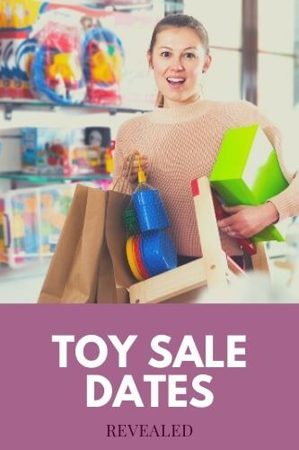 Toy Sales - Upcoming UK Toy Sale Dates Revealed 2021