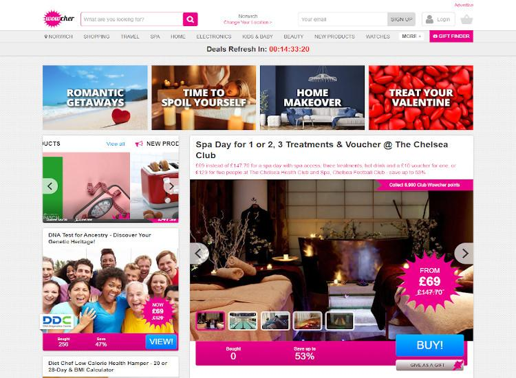 wowcher deal website