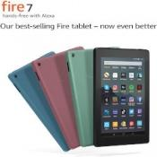 "Fire 7 Tablet | 7"" display, 16 GB, Black with Special Offers £34.99 @ Amazon"