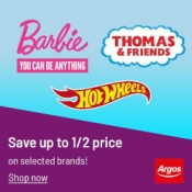 Argos Toy Sale Now Live - 100s of brand name toys HALF PRICE
