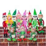 Various Elf soft toys only £3.95 delivered