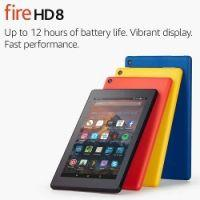 "Fire HD 8 Tablet with Alexa, 8"" HD Display, 32 GB £49.99 delivered @ Amazon"