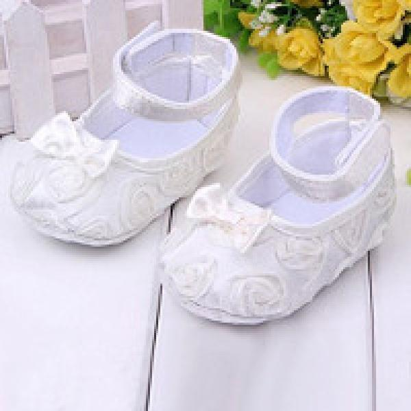 Baby white pram shoes £1.55 delivered