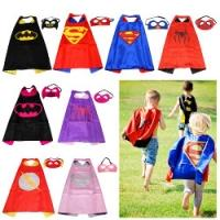 Superhero mask & cape sets only £1.58 delivered @ eBay