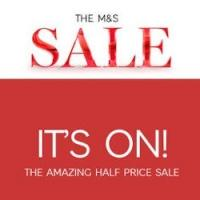 M&S Up to 50% off sale @ Marks and Spencer