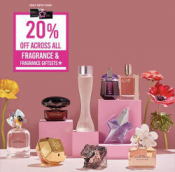 20% Off All Fragrance & Giftsets @ Superdrug